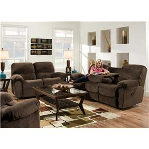American Furniture AF310 Reclining Living Room Group