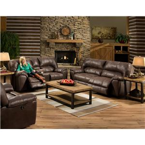 American Furniture AF740 Reclining Living Room Group