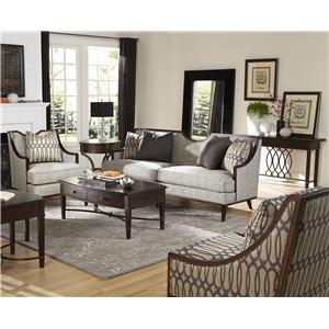 A.R.T. Furniture Inc Harper - Mineral Stationary Living Room Group