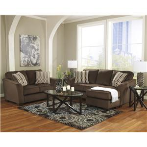 Ashley Furniture Geordie - Cafe Stationary Living Room Group
