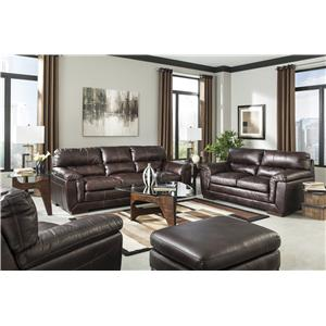 Ashley Furniture Zelladore - Canyon Stationary Living Room Group