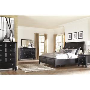 Millennium Greensburg Queen Bedroom Group