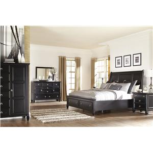 Millennium Greensburg King Bedroom Group