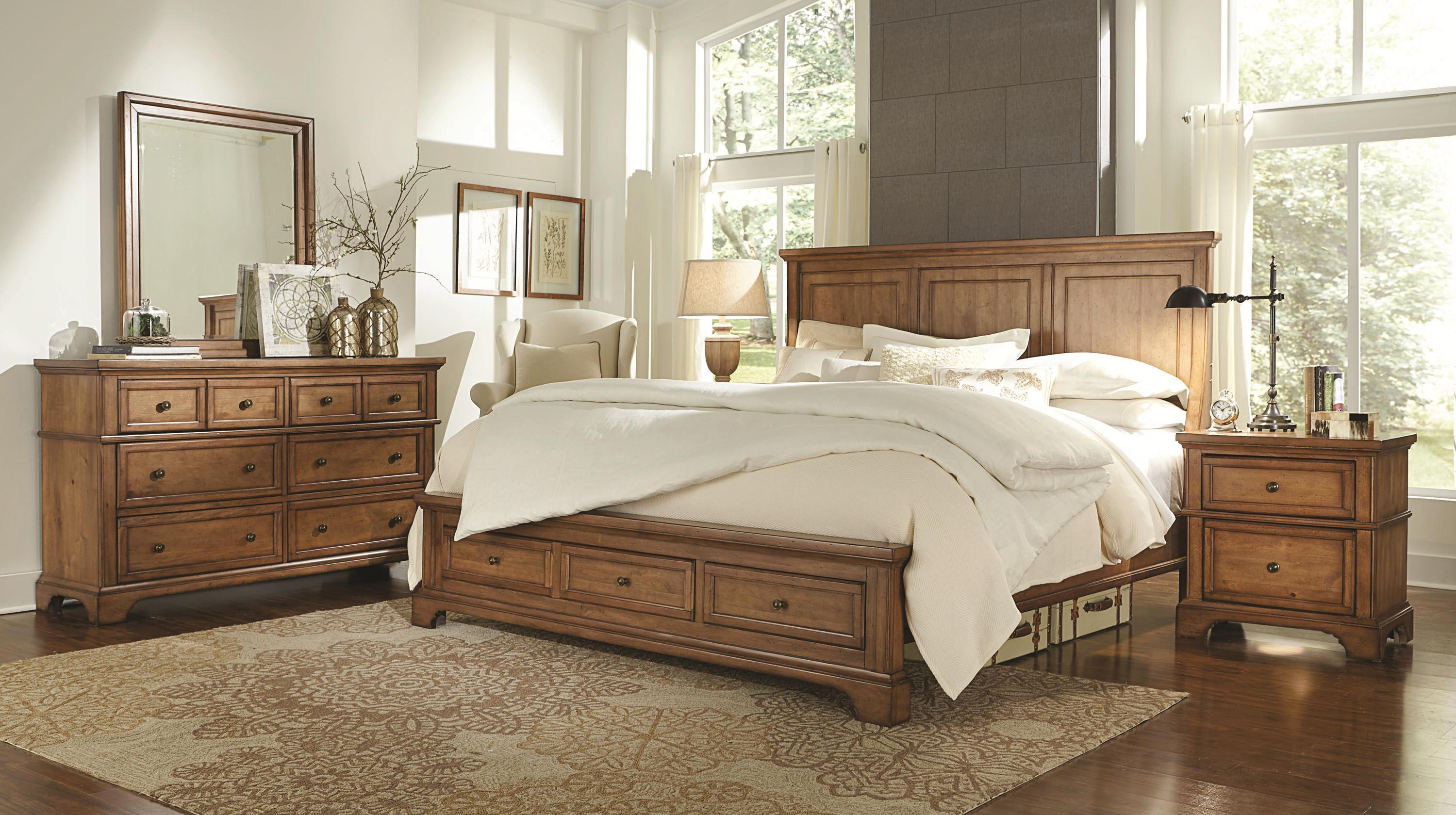 Alder Creek Queen Bedroom Group 2 by Hills of Aspen at Ruby Gordon Home