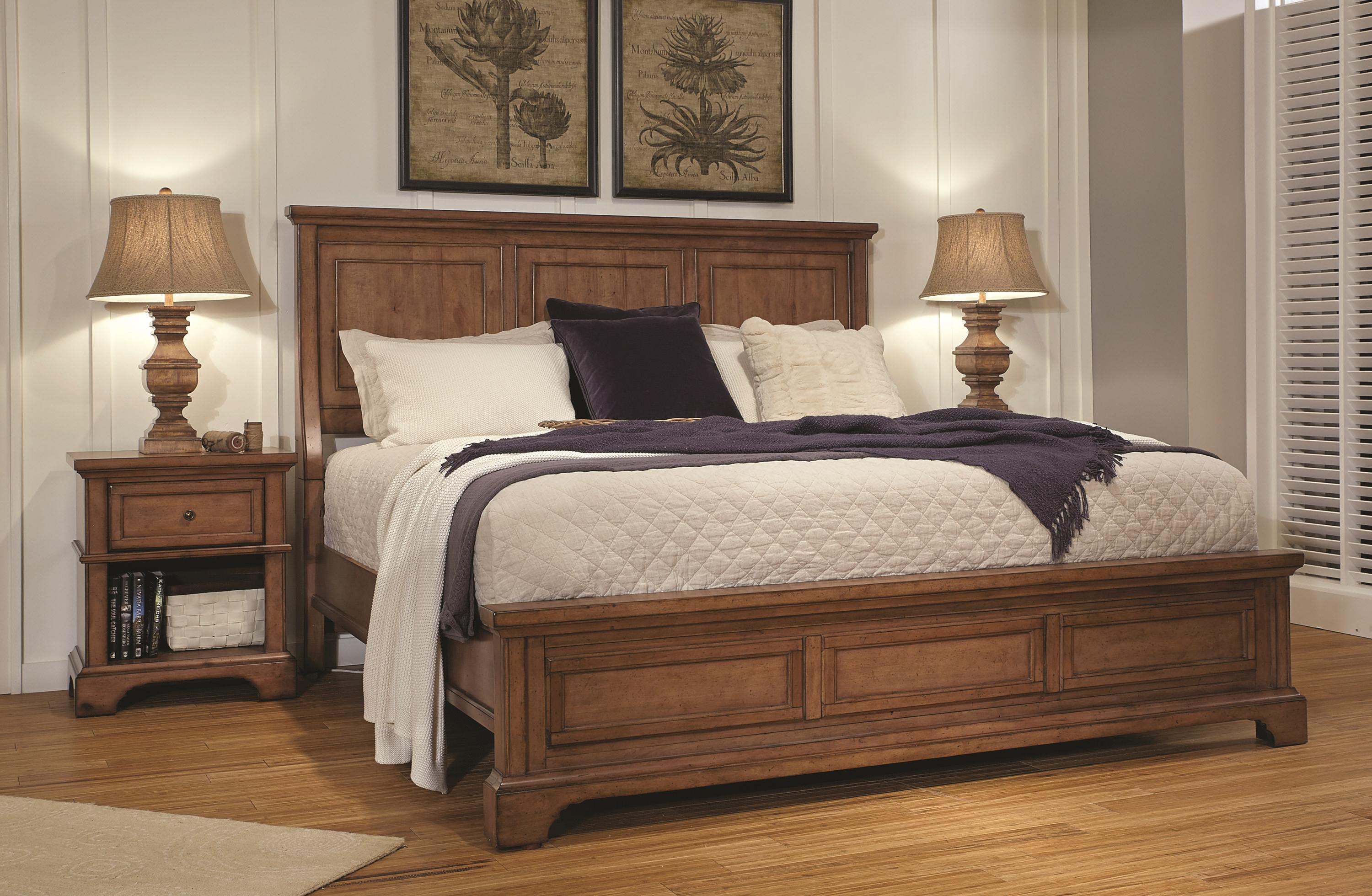 Alder Creek California King Bedroom Group 3 by Aspenhome at Fashion Furniture