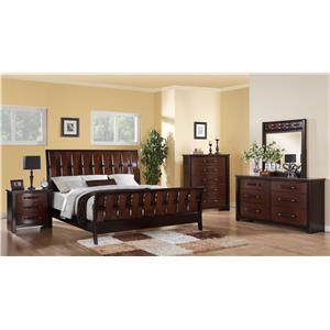 Austin Group Cavalier King Bedroom Group