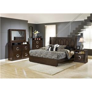 Austin Group Presley 520 Bed - Headboard & Footboard