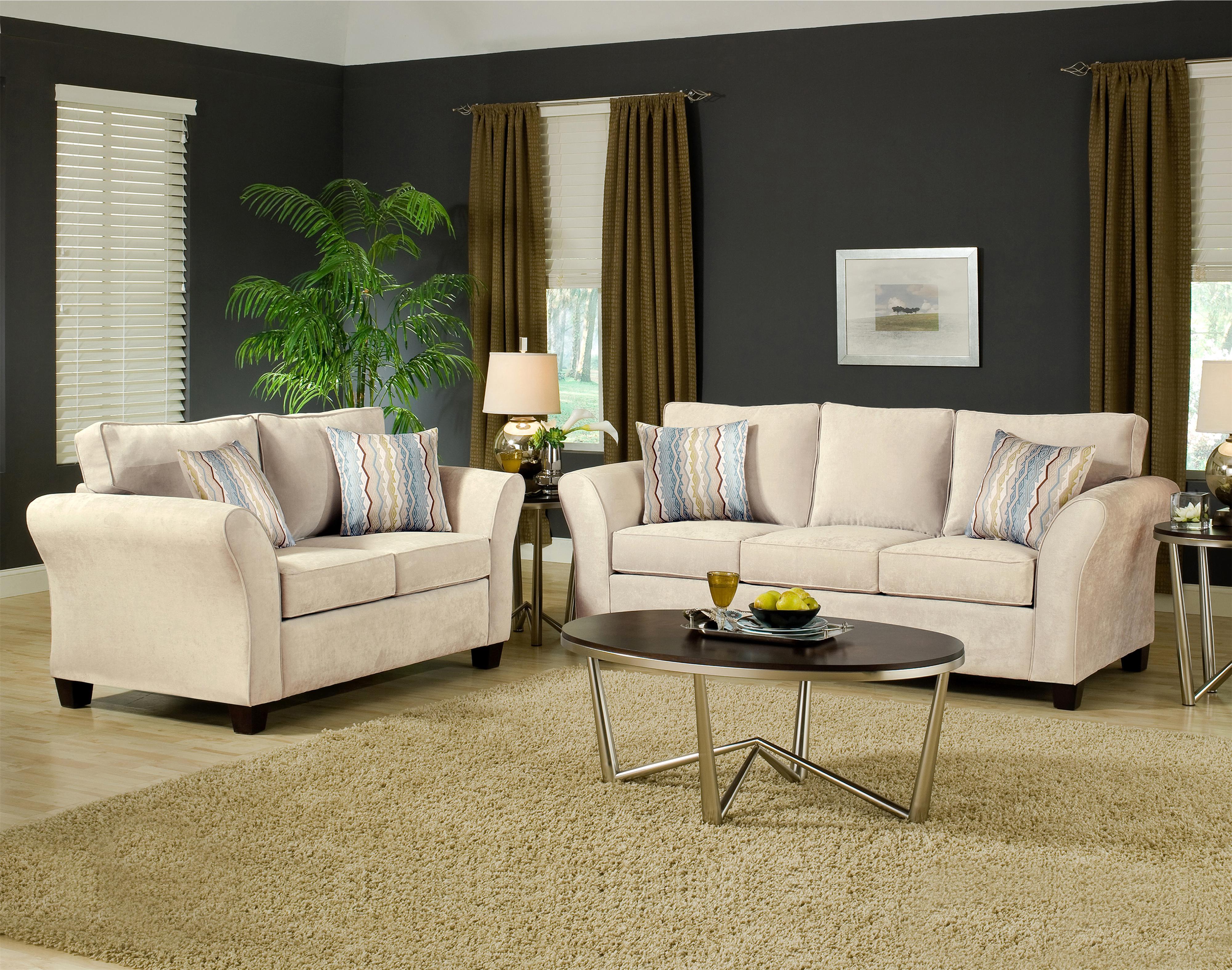 Addison 8400 Stationary Living Room Group by VFM Essentials at Virginia Furniture Market