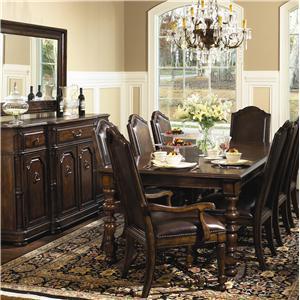Bernhardt Normandie Manor Formal Dining Room Group