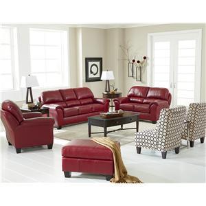 Best Home Furnishings Birkett Stationary Living Room Group