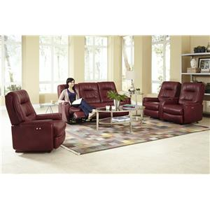 Best Home Furnishings Felicia  Reclining Living Room Group