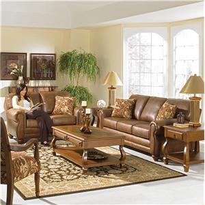 Best Home Furnishings Fitzpatrick Stationary Living Room Group