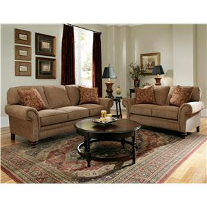 Broyhill Express Larissa Stationary Living Room Group
