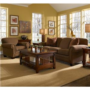 Broyhill Furniture Ava  Stationary Living Room Group
