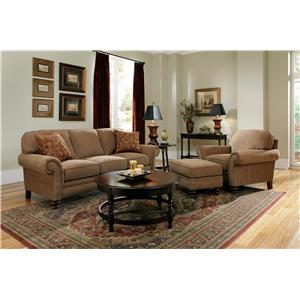 Broyhill Furniture Larissa Stationary Living Room Group