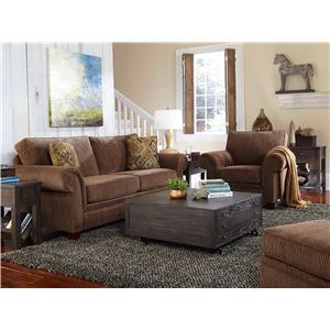 Broyhill Furniture Travis Stationary Living Room Group