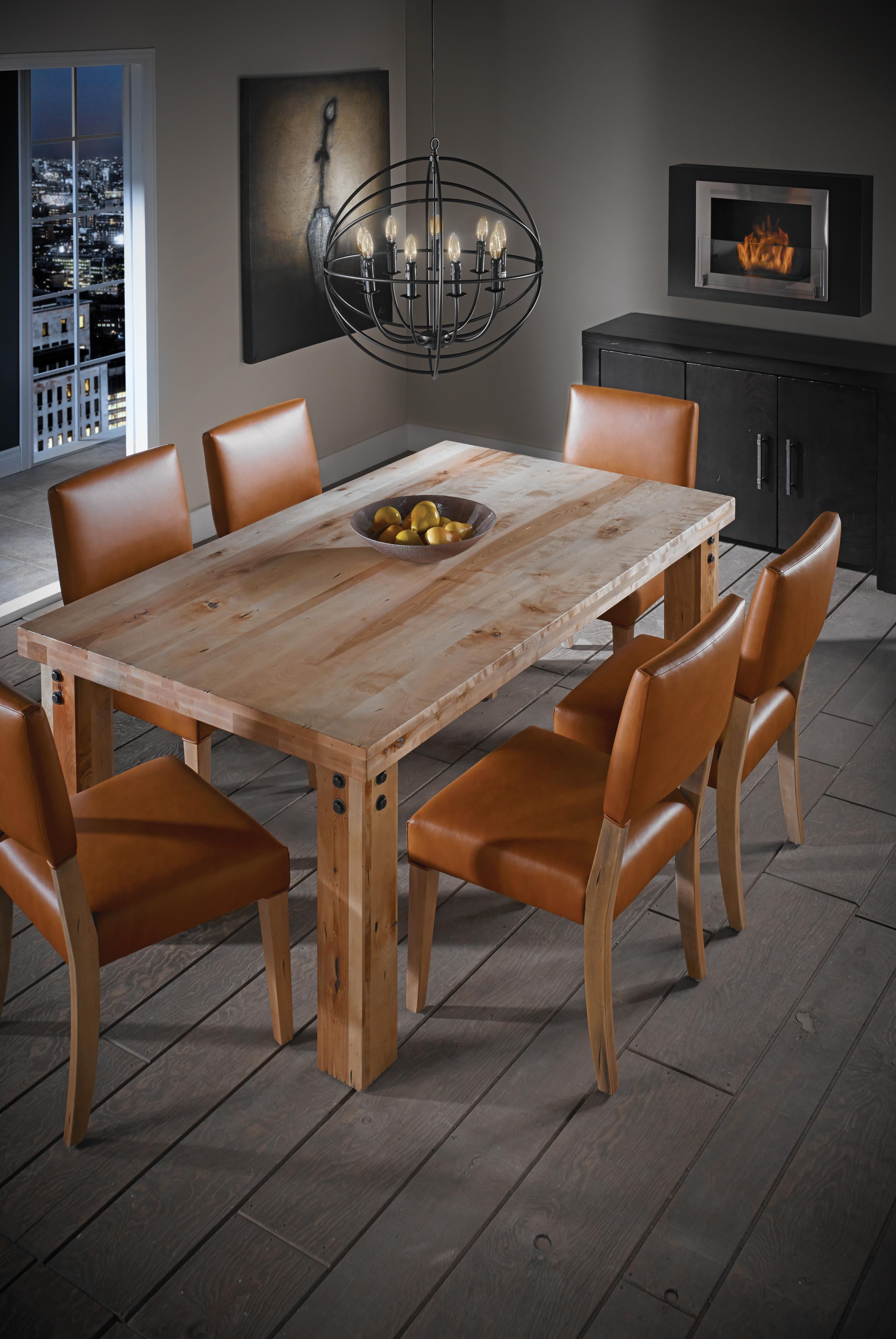 Loft - Custom Dining Formal Dining Room Group by Canadel at Dinette Depot