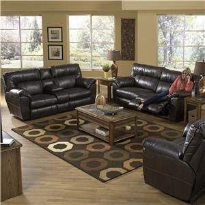 Catnapper Nolan  Reclining Living Room Group