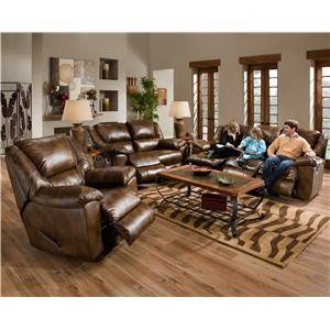 Catnapper Transformer Reclining Living Room Group