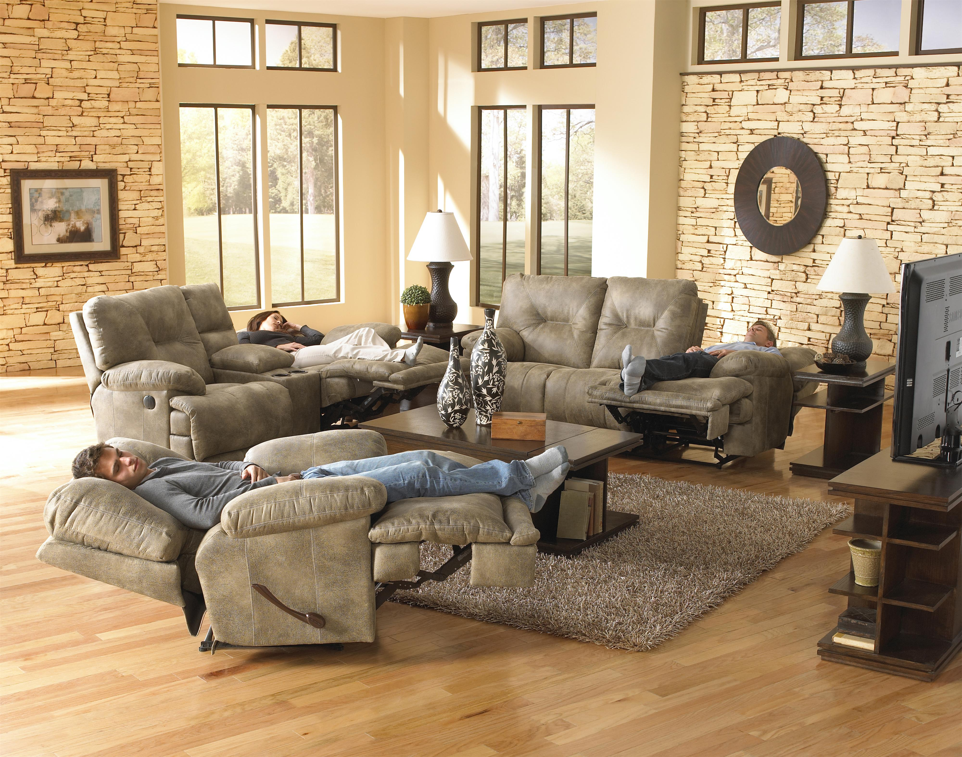 Voyager Reclining Living Room Group by Catnapper at Northeast Factory Direct
