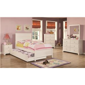 Full Trundle Bedroom Group
