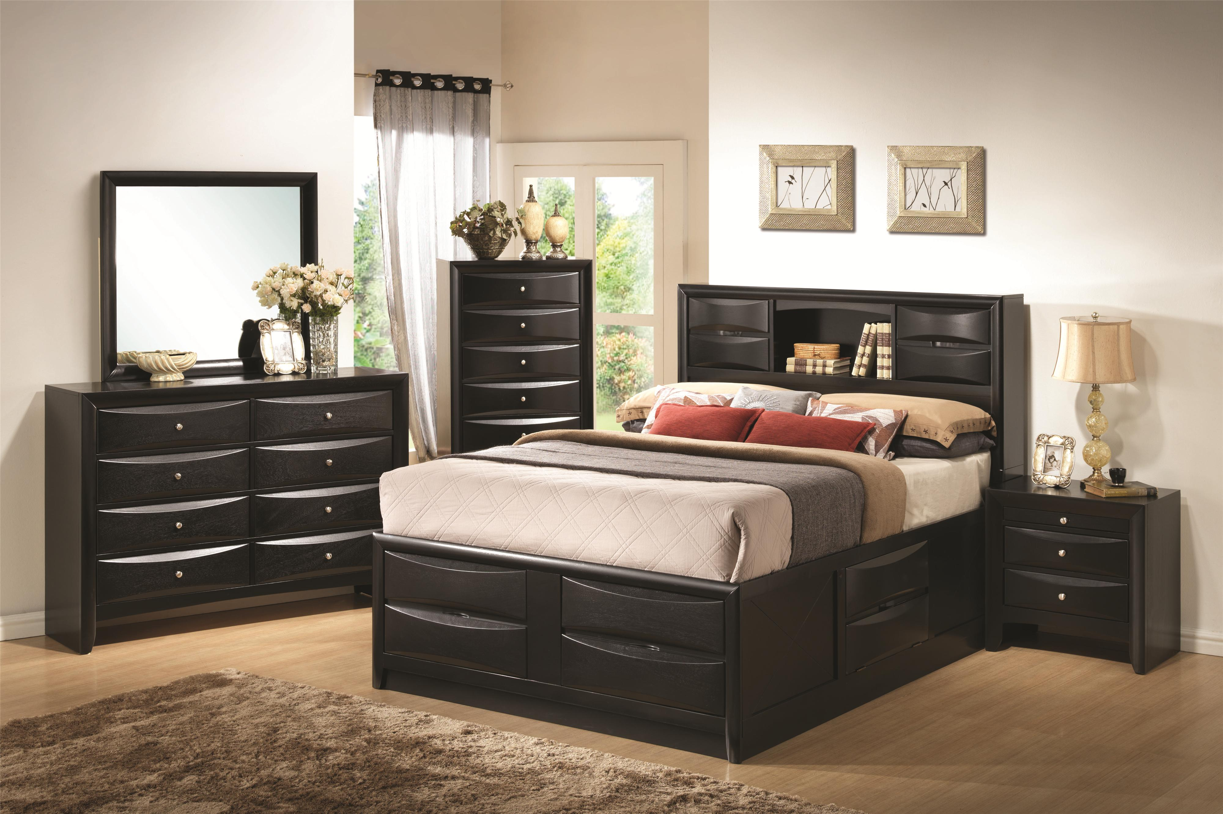 Briana King Bedroom Group by Coaster at Northeast Factory Direct