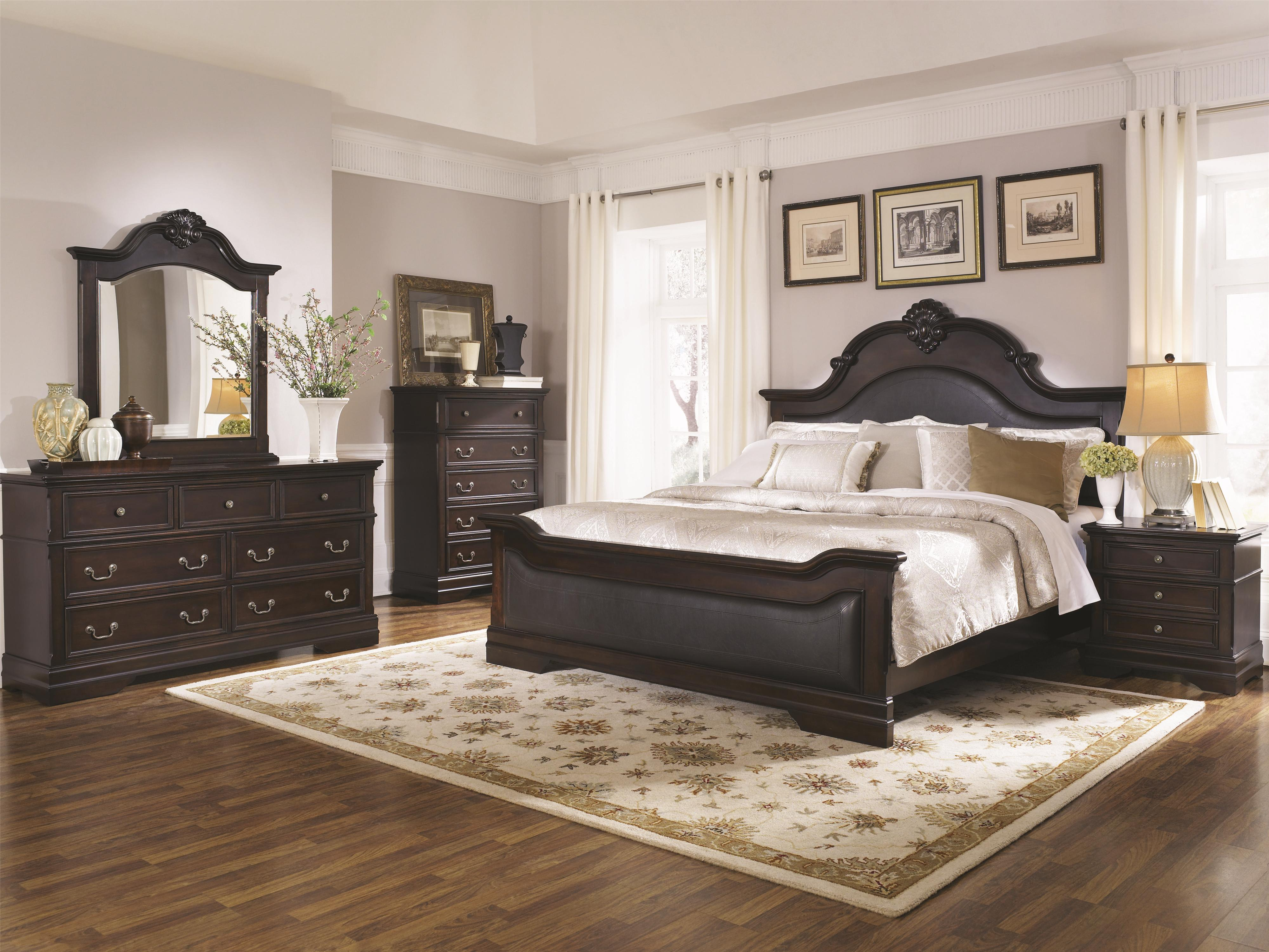 Cambridge King Bedroom Group by Coaster at Beds N Stuff