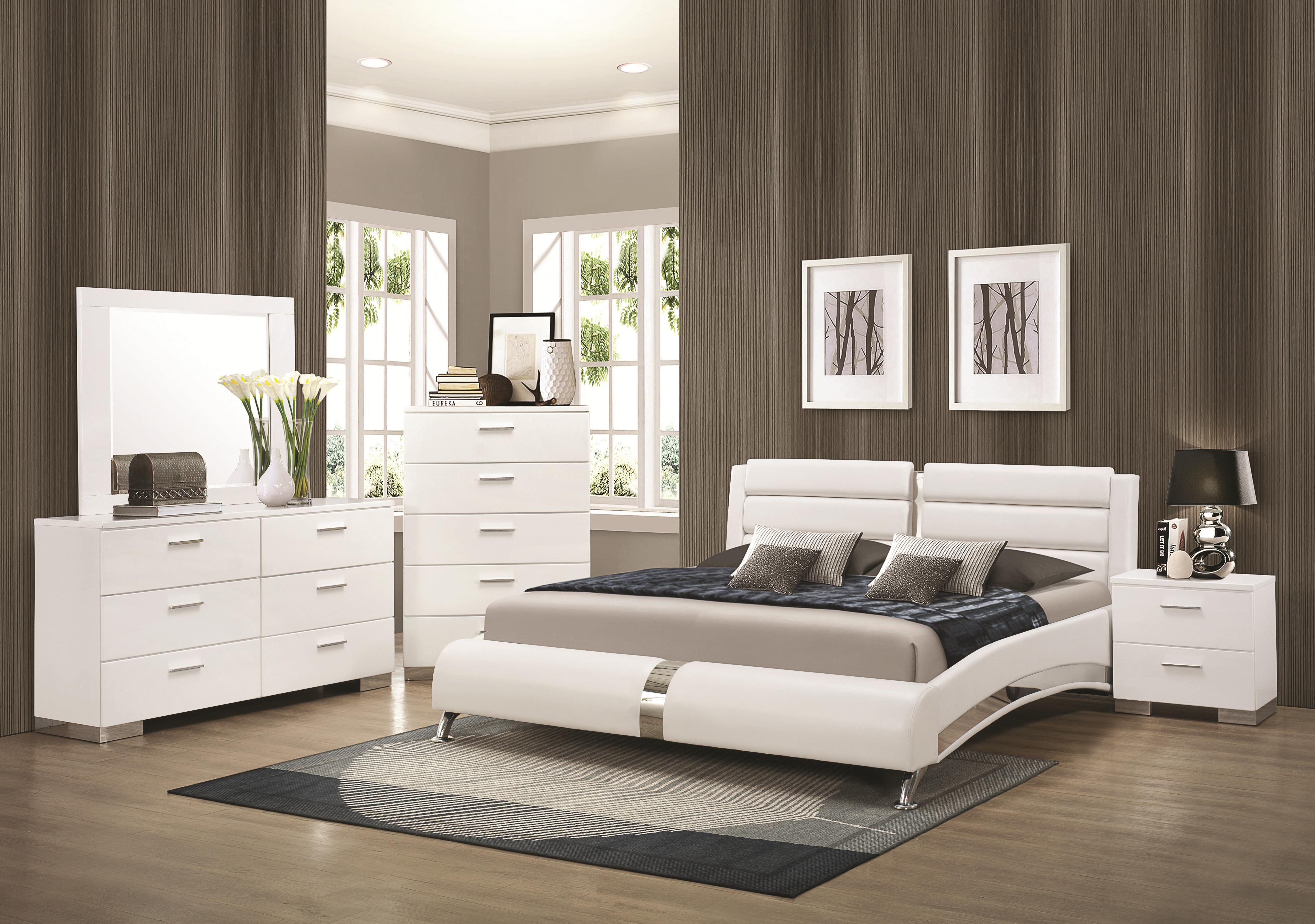 Felicity Cal King Bedroom Group by Coaster at Northeast Factory Direct