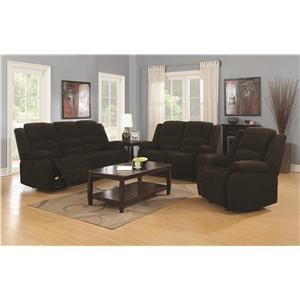 Coaster Gordon Reclining Living Room Group