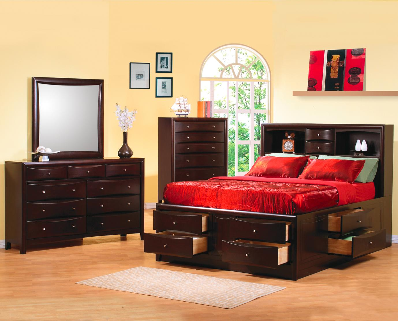 Phoenix King Bedroom Group by Coaster at Northeast Factory Direct
