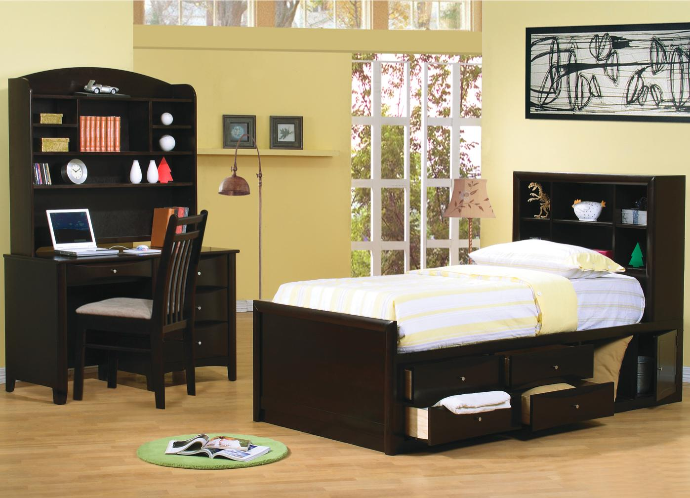 Phoenix Twin Bedroom Group by Coaster at Standard Furniture