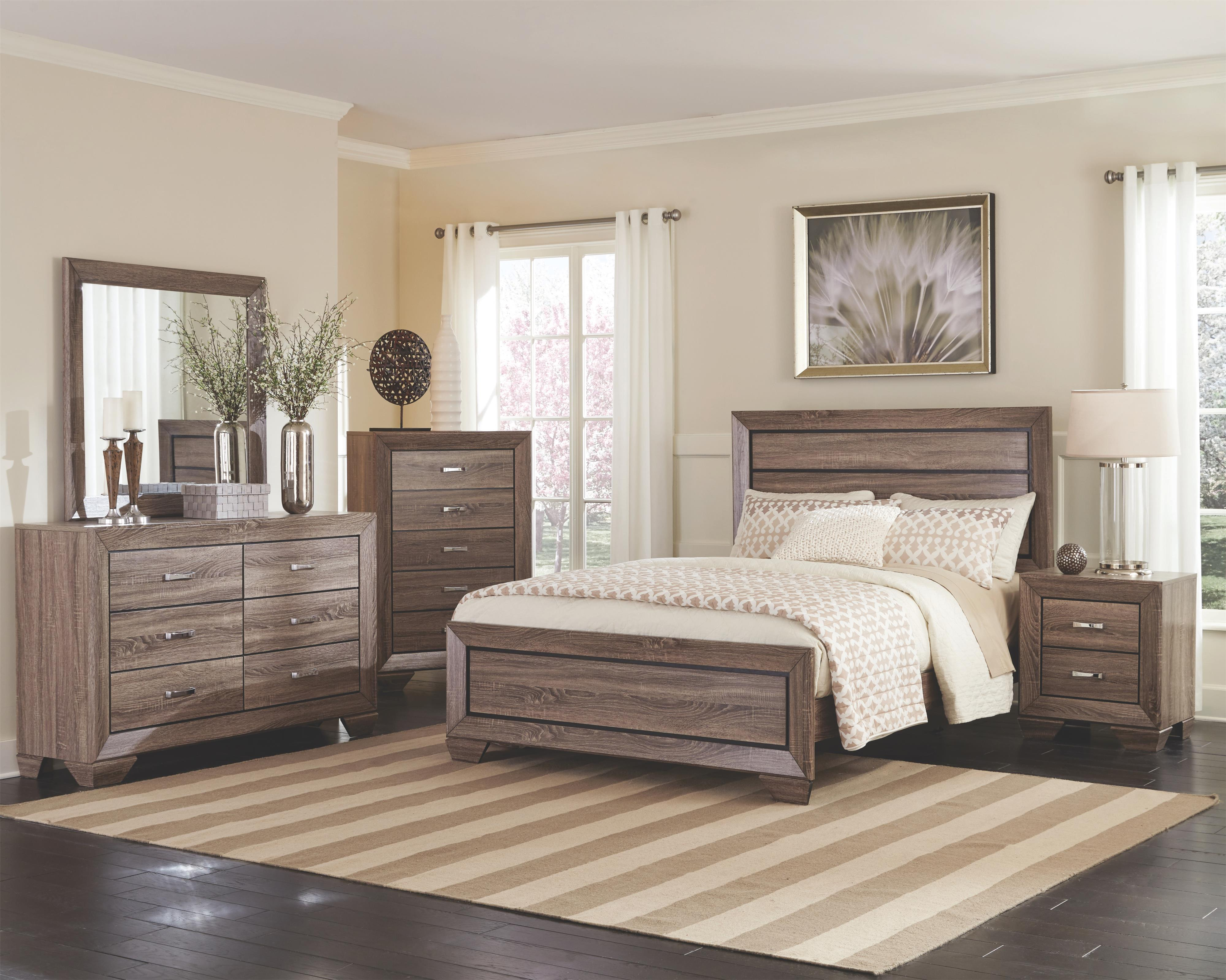 Kauffman King Bedroom Group by Coaster at Northeast Factory Direct