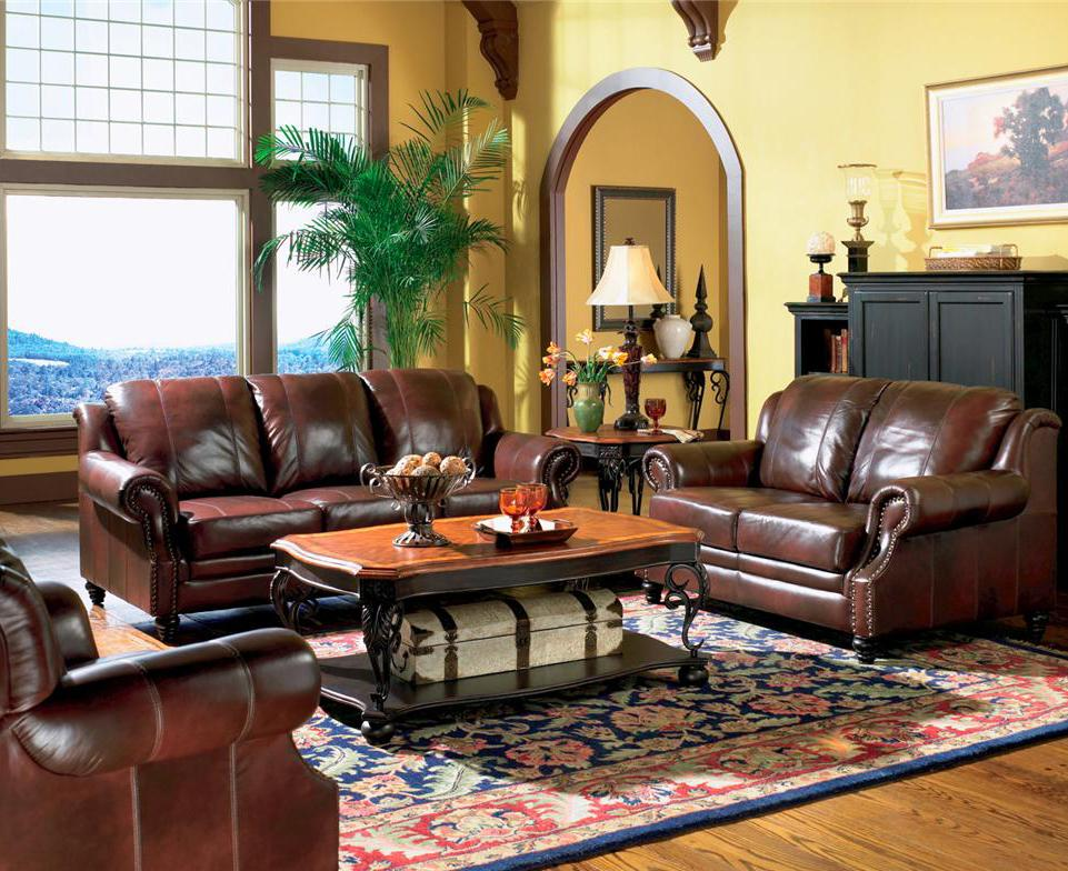 Princeton Stationary Living Room Group by Coaster at Northeast Factory Direct