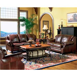 Coaster Princeton Stationary Living Room Group