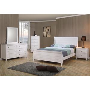 Coaster Selena Twin Bedroom Group