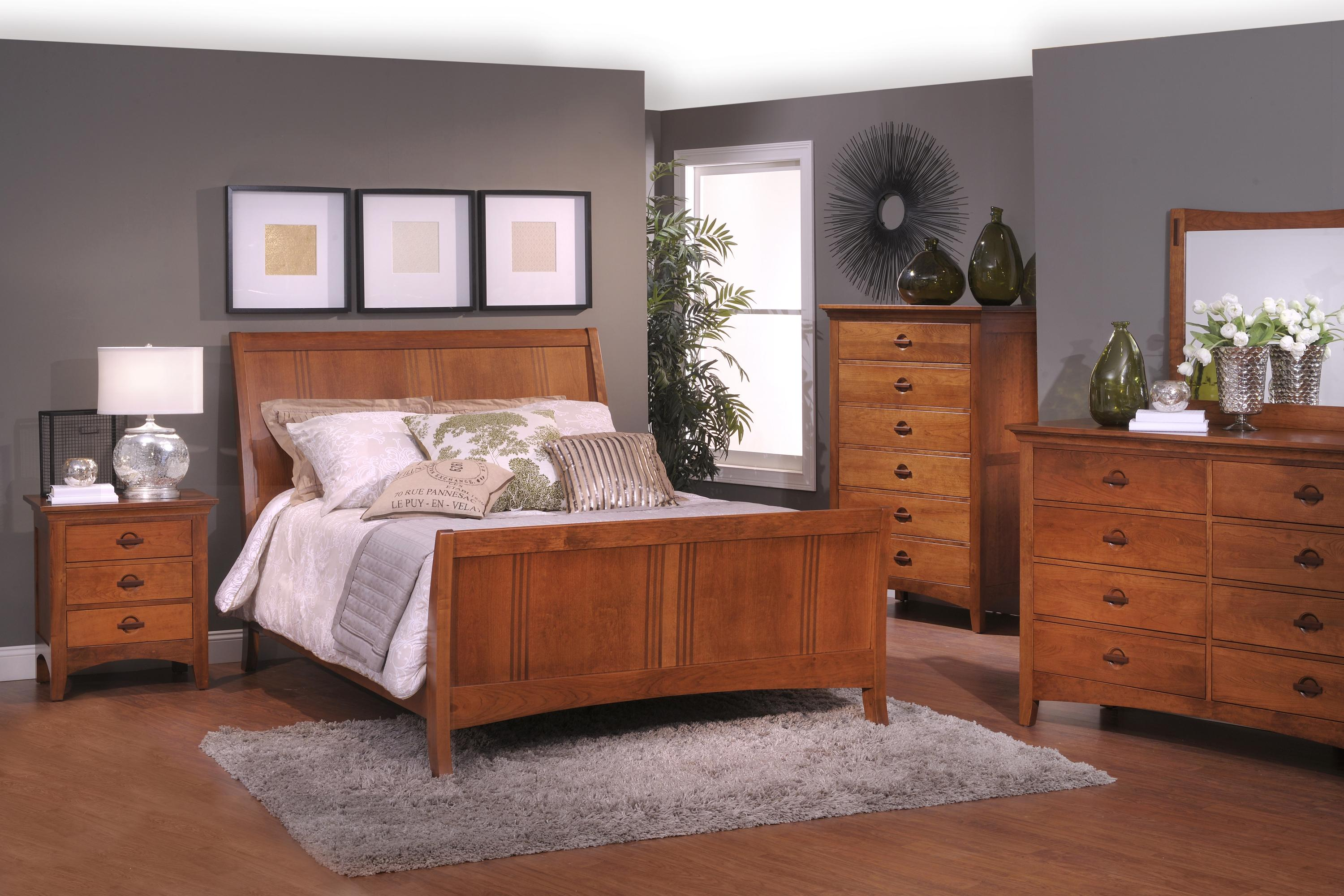 Great Lakes C King S Bed Group 4 by Country View Woodworking at Mueller Furniture