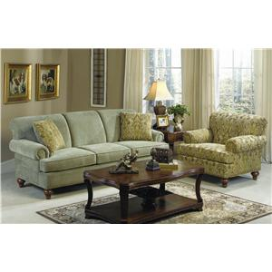 Craftmaster 704750 Stationary Living Room Group