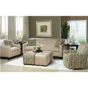 Hickory Craft 7069 Stationary Living Room Group