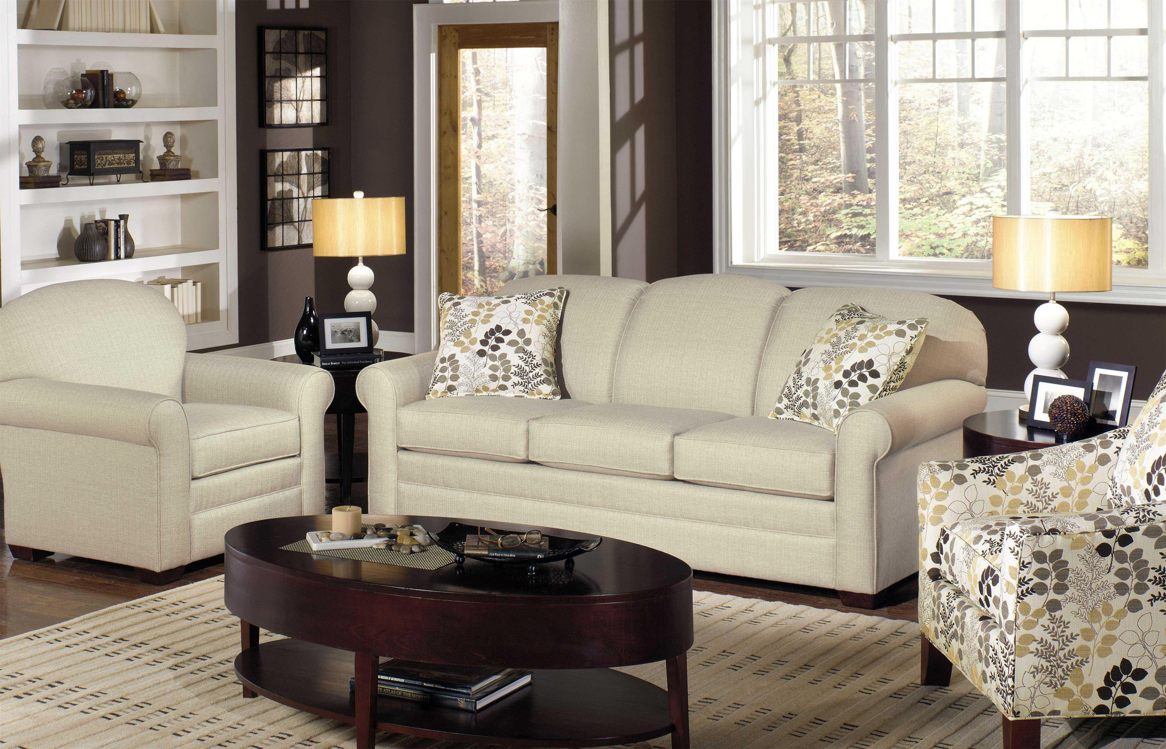 7185 Stationary Living Room Group by Craftmaster at Home Collections Furniture