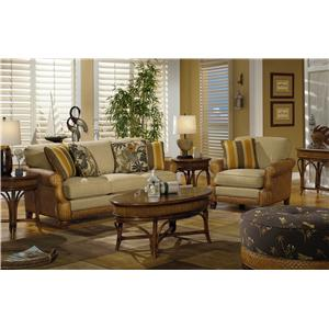 Craftmaster 720900 Stationary Living Room Group