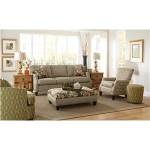Craftmaster 736400 Stationary Living Room Group
