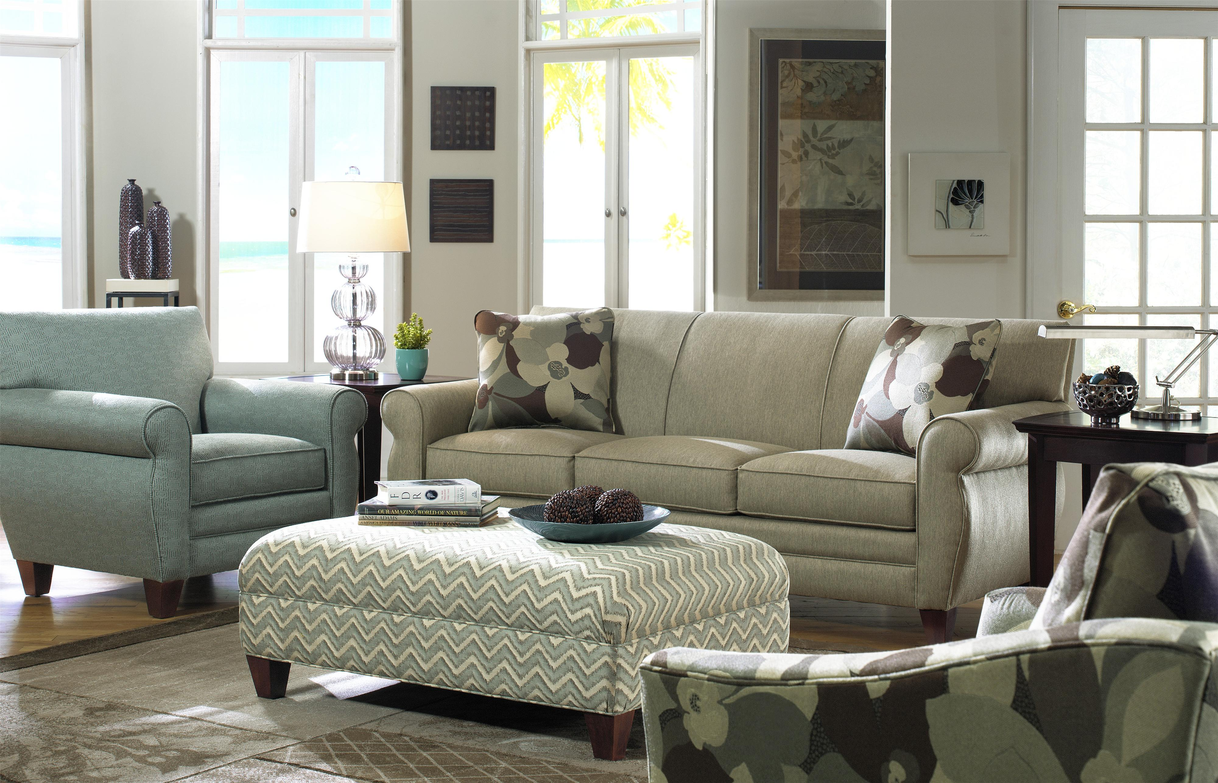 7388 Stationary Living Room Group by Craftmaster at Esprit Decor Home Furnishings