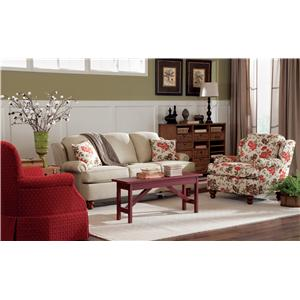 Craftmaster 7402 Stationary Living Room Group
