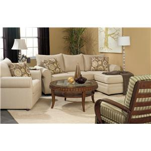 Craftmaster 7748 Stationary Living Room Group
