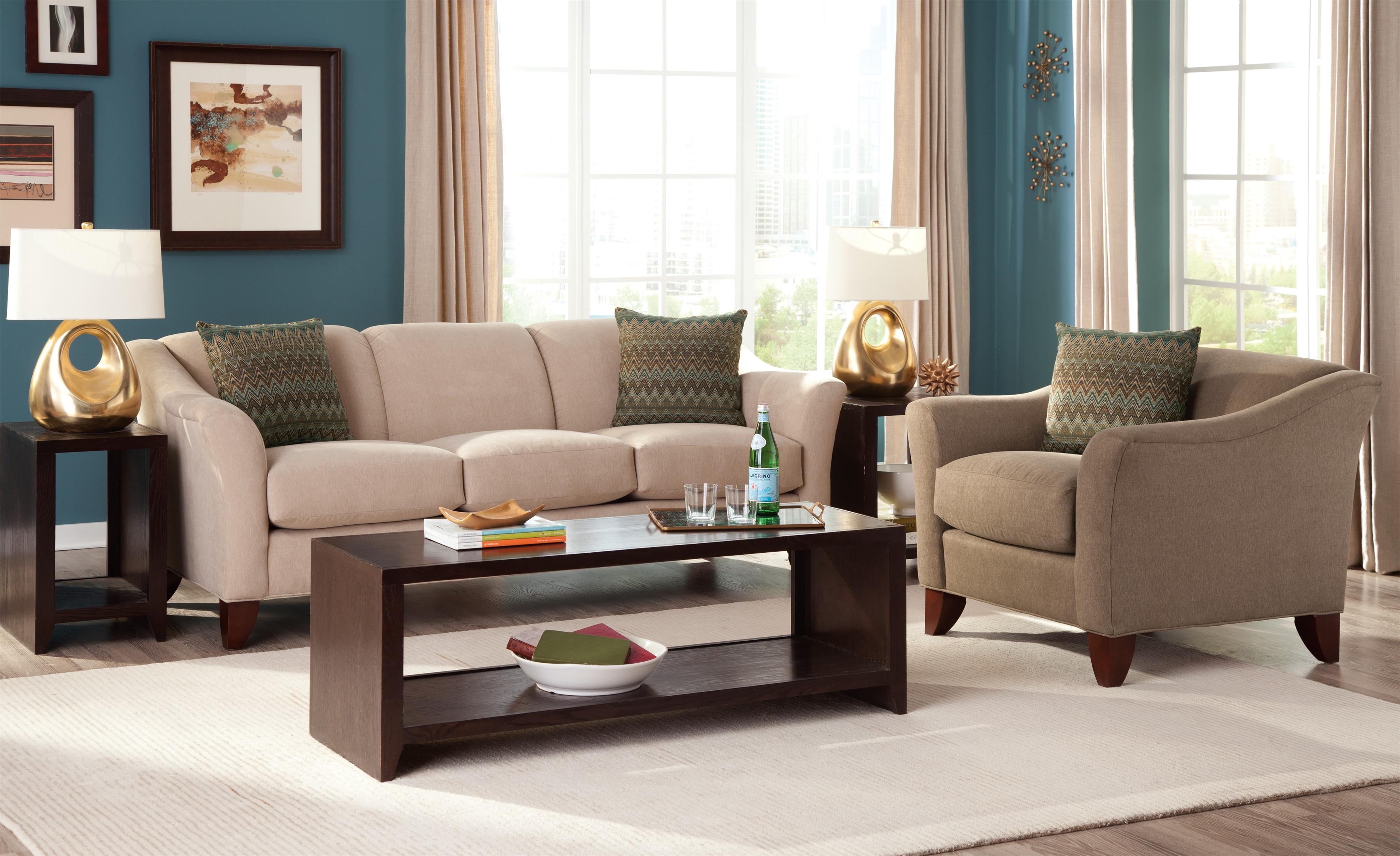 7844 Stationary Living Room Group by Craftmaster at Esprit Decor Home Furnishings