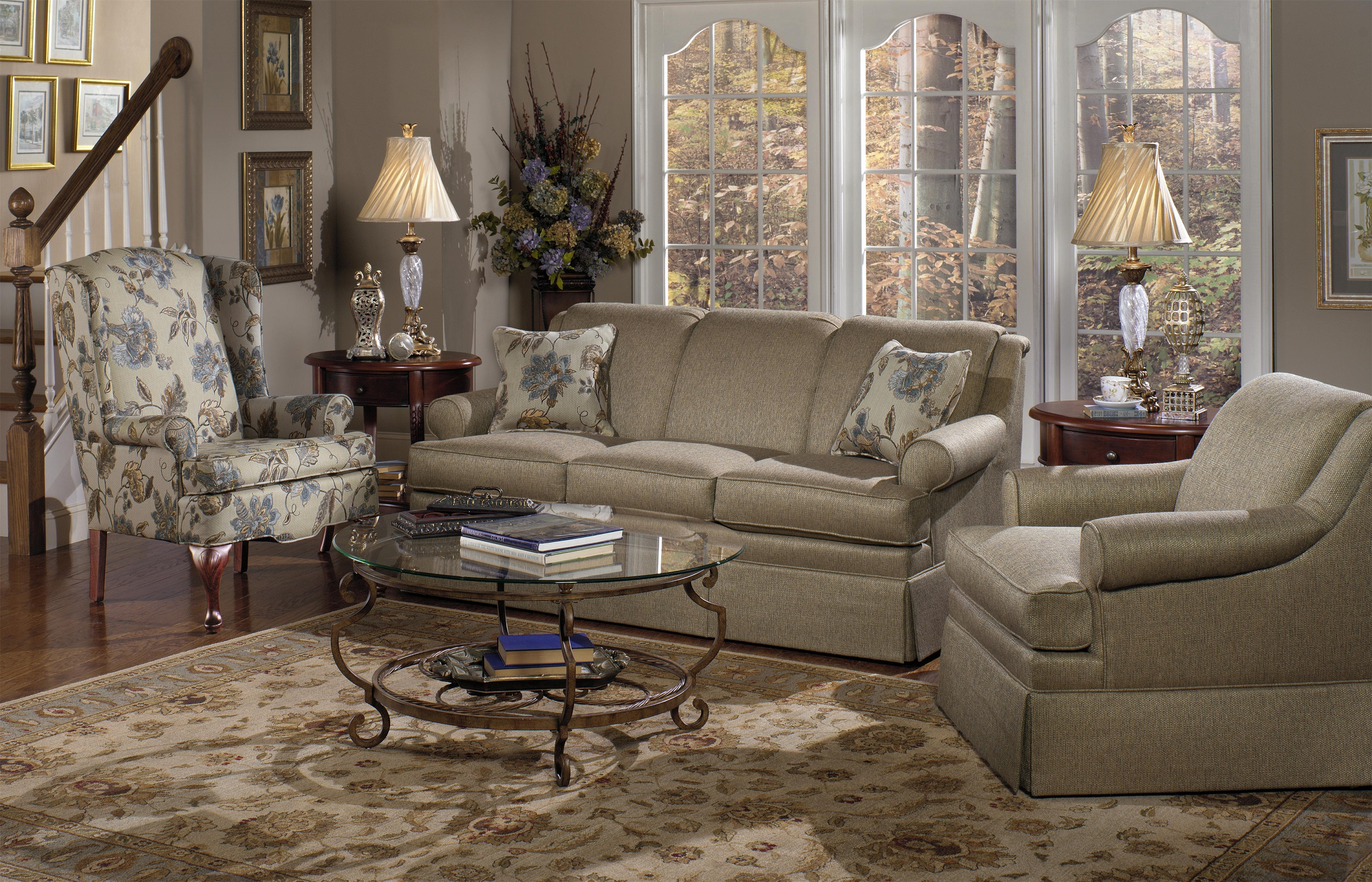 9205 Stationary Living Room Group by Craftmaster at Esprit Decor Home Furnishings