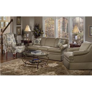 Craftmaster 9205 Stationary Living Room Group