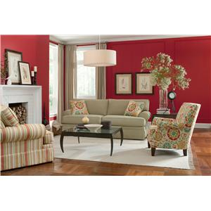 Craftmaster 9354 Stationary Living Room Group