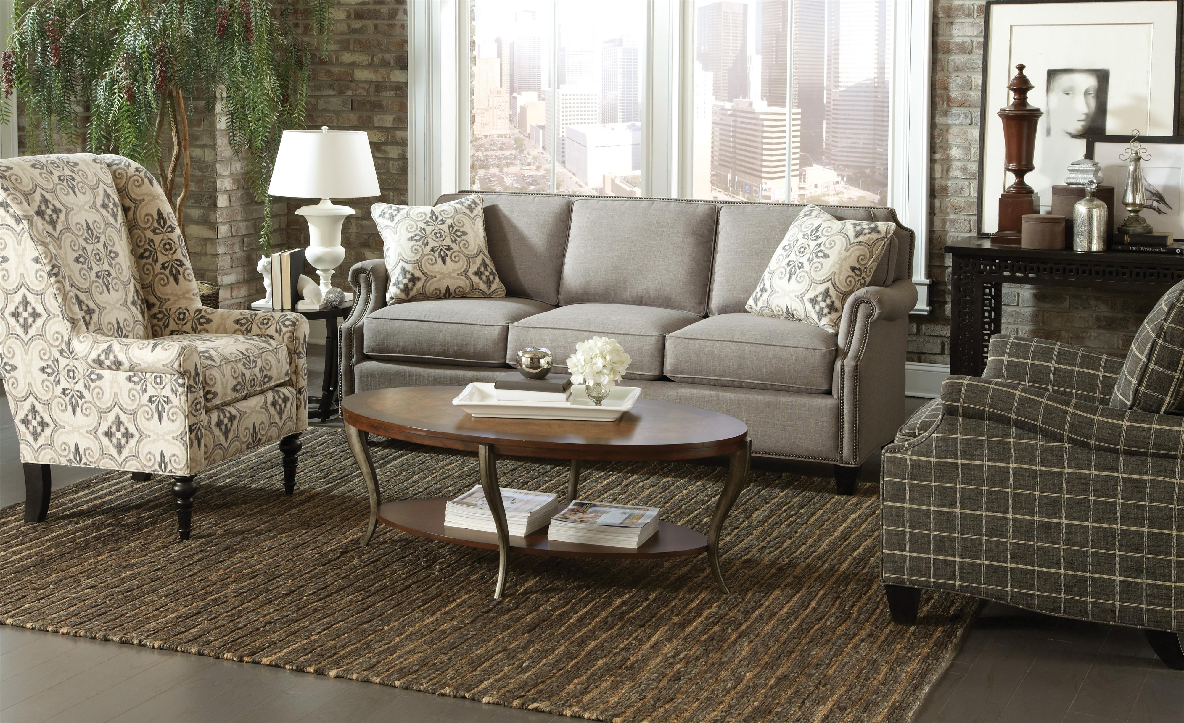 9383 Stationary Living Room Group by Craftmaster at Baer's Furniture