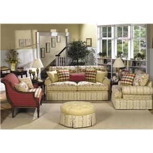 Craftmaster 9535 Stationary Living Room Group